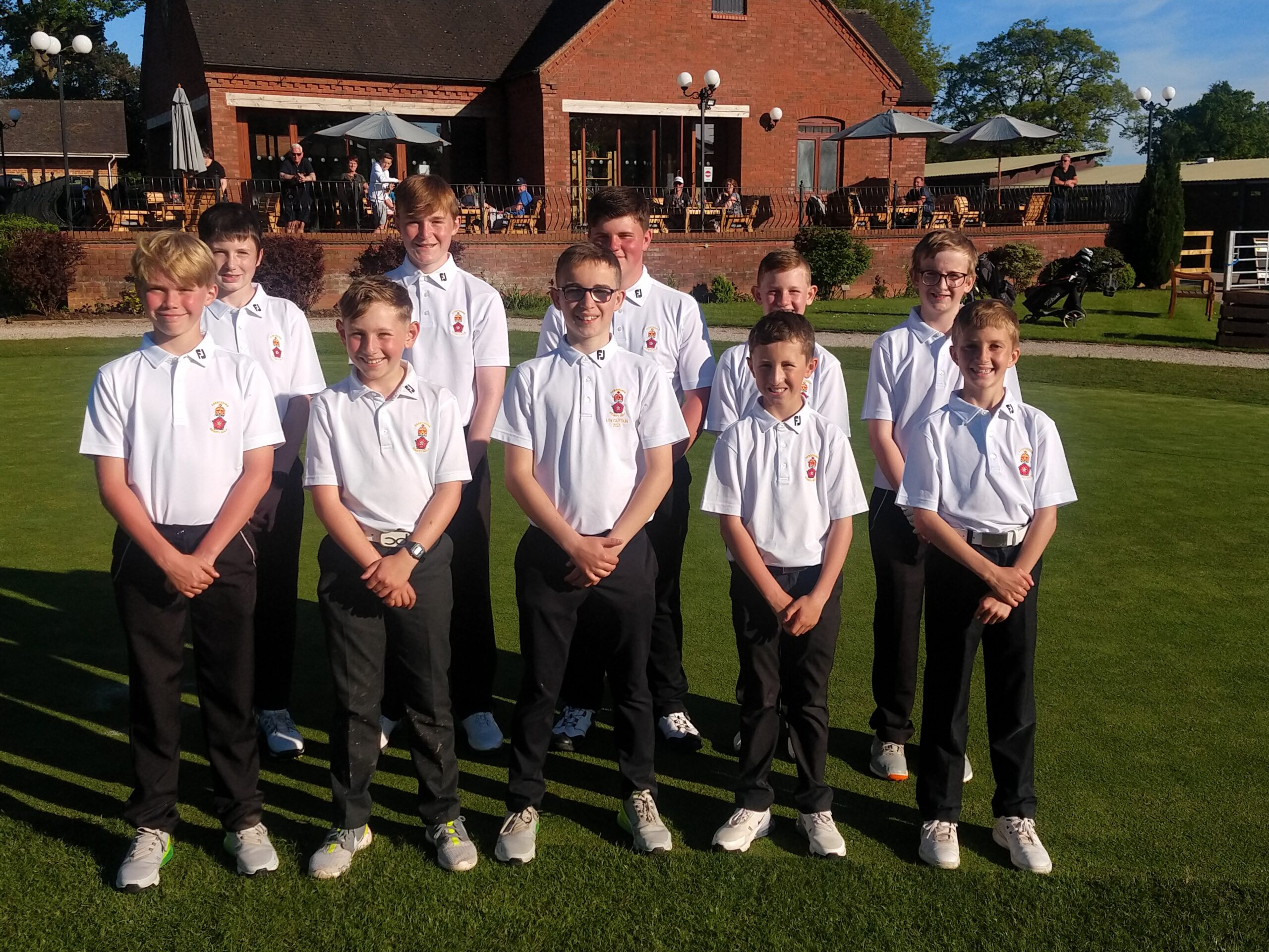 Read more about the article Derbyshire Under 14s v Staffordshire Under 14s